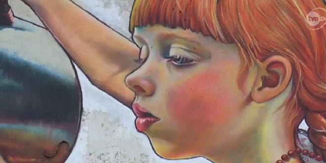 """Mural """"Dziewczynka z konewką"""" będzie uratowany?"""