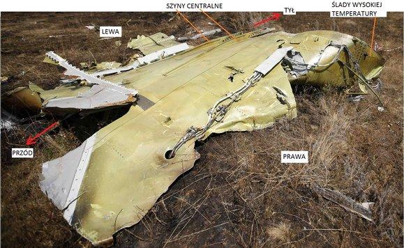 Co rozerwało boeinga lot Mh17