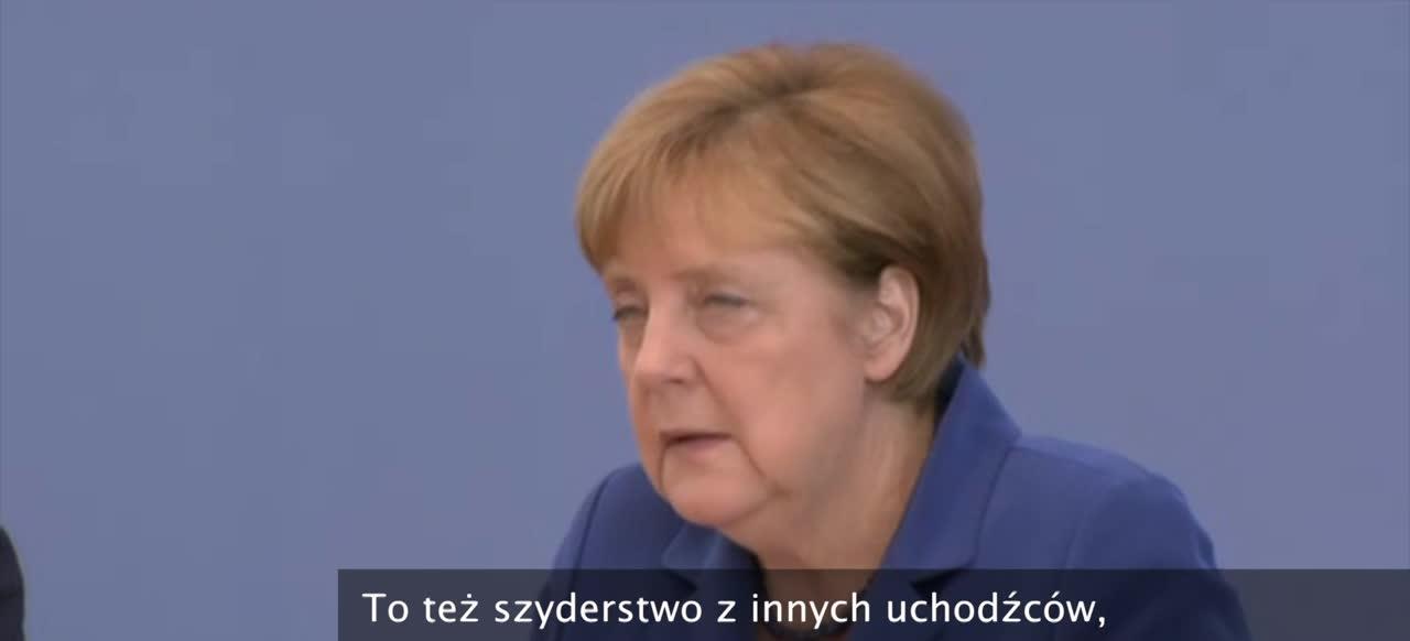 Merkel: Zamachy to szyderstwo z naszego kraju