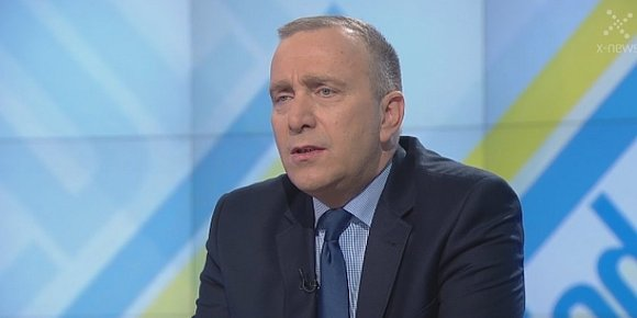 Grzegorz Schetyna, fot. TVN24/kadr z filmu