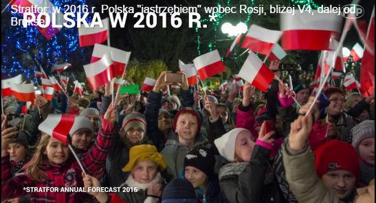 Prognoza Stratfor: Polska i świat w 2016