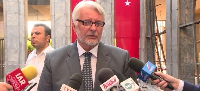Waszczykowski: Turcja jest potrzebna UE